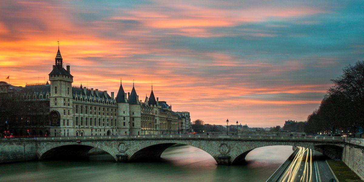 Paris social distancing drones