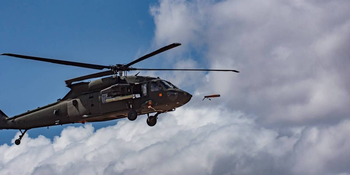 U.S. Army Black Hawk spy drones