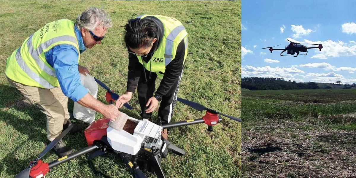 XAG drones Australia bushfire