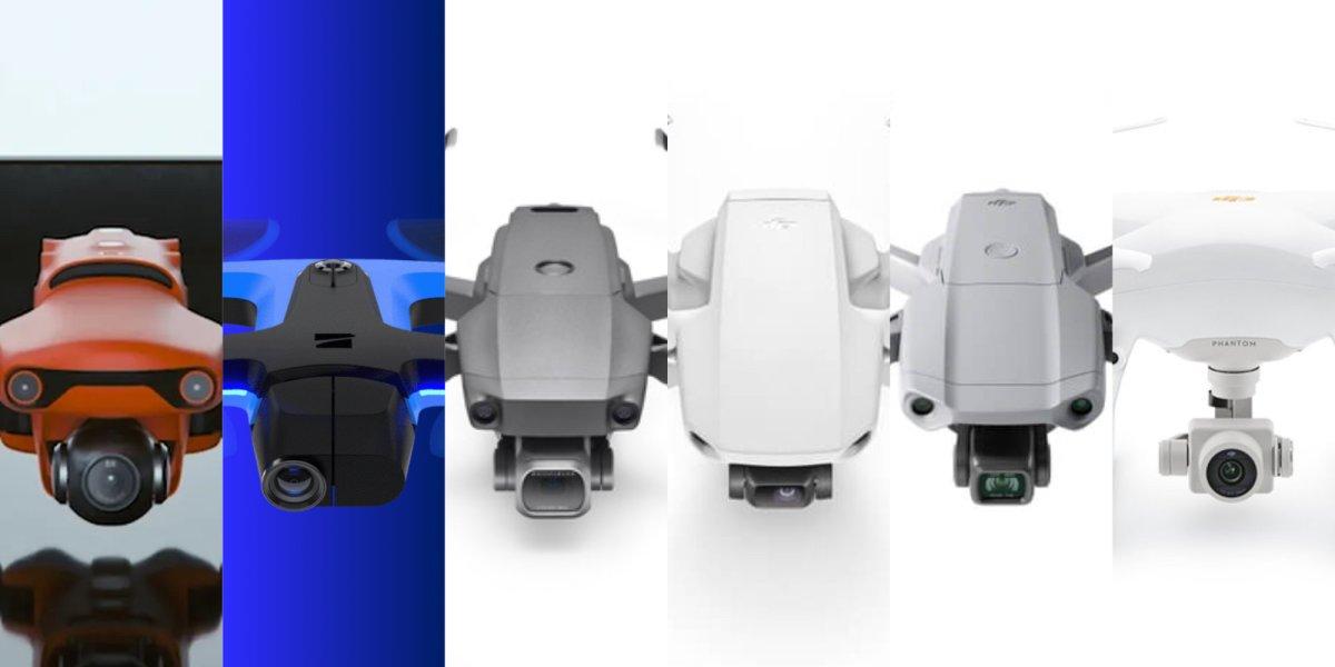 best consumer drones 2020 DJI Autel Robotics Skydio