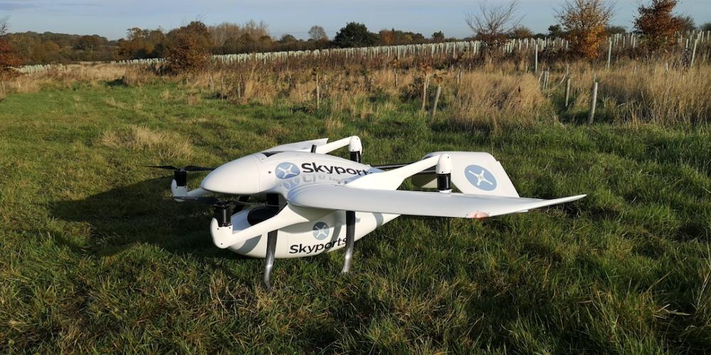 scotland drone delivery