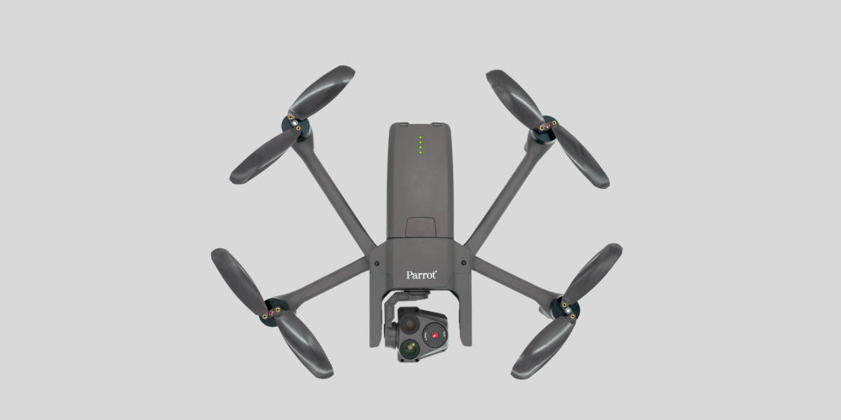 Parrot Anafi USA images for launch