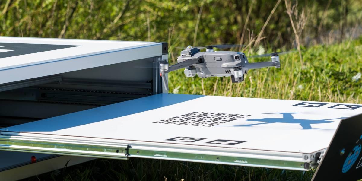 AirHub autonomous drone box