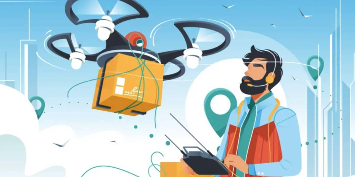 BVLOS drone deliveries India