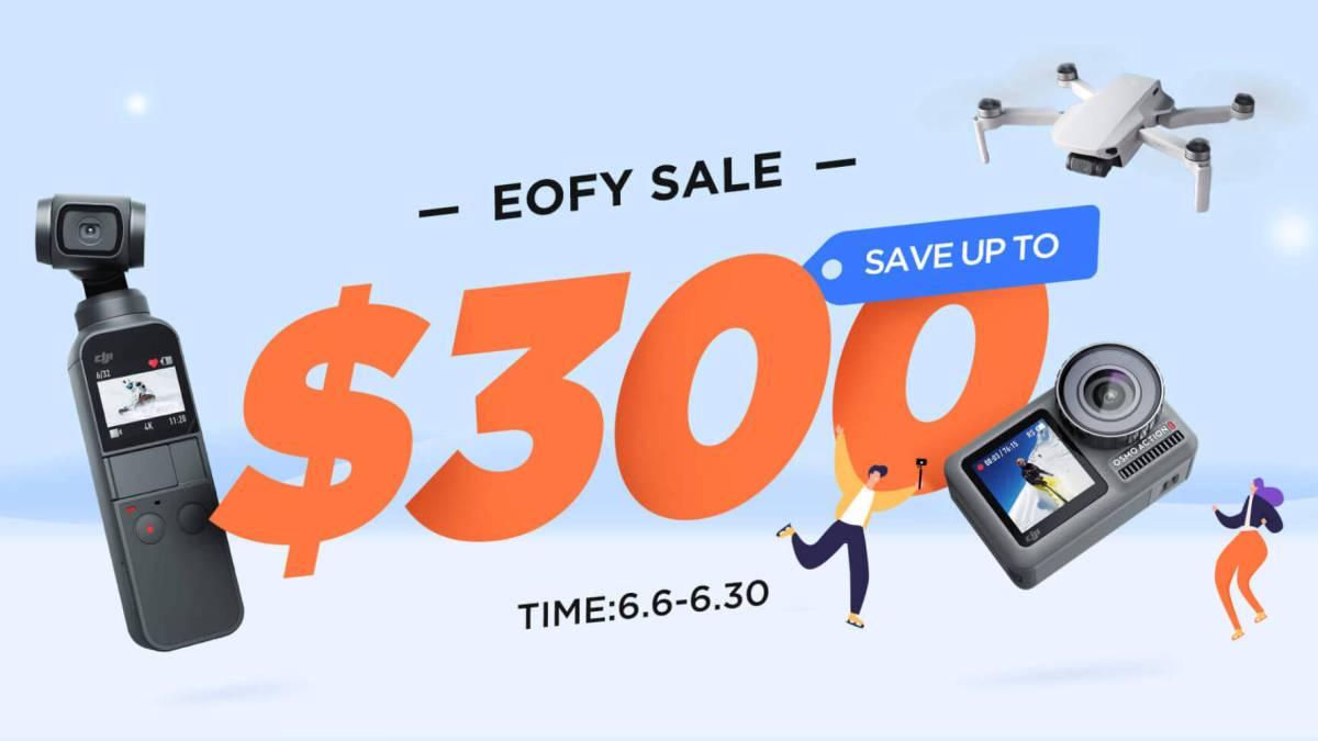 DJI Australia mid year sale