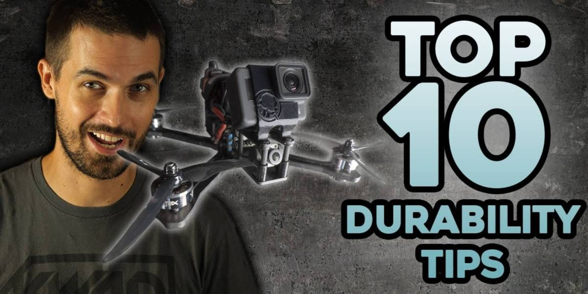 FPV drone durable Rotor Riot
