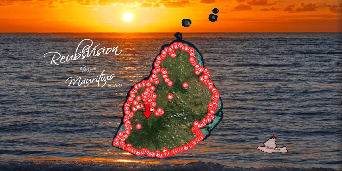 Mauritius 360-degree drone tour
