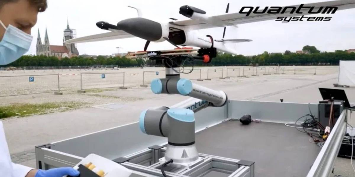 Medical delivery drones Germany