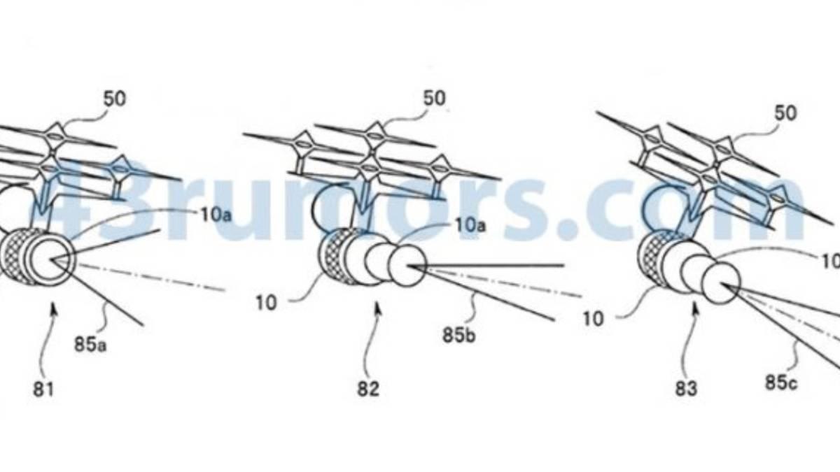 Olympus drone patent