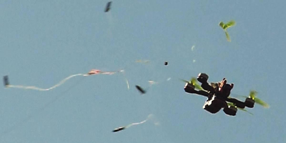 Prison takedown rogue drone