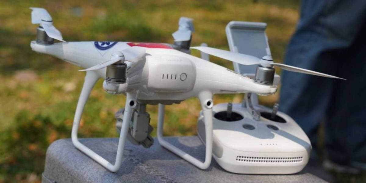 Scientists drones cleanup plastic