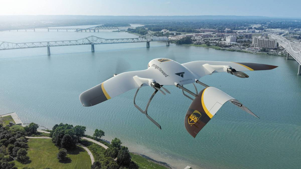 Wingcopter technology pioneer WEF