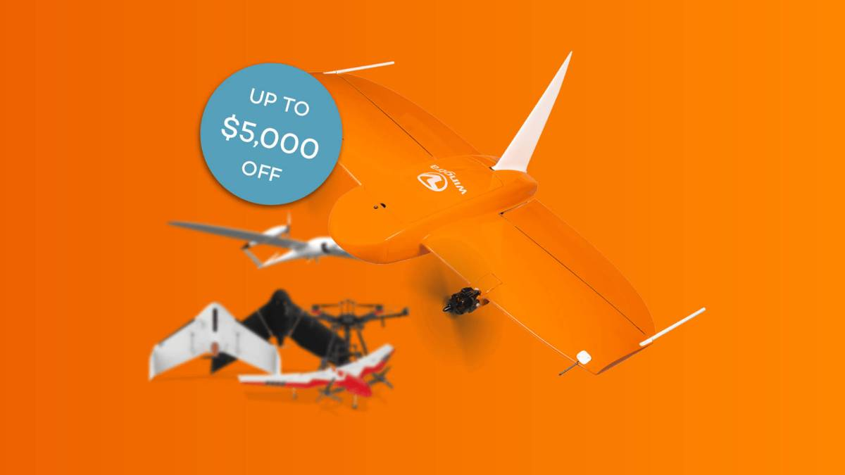 Wingtra drone trade-in