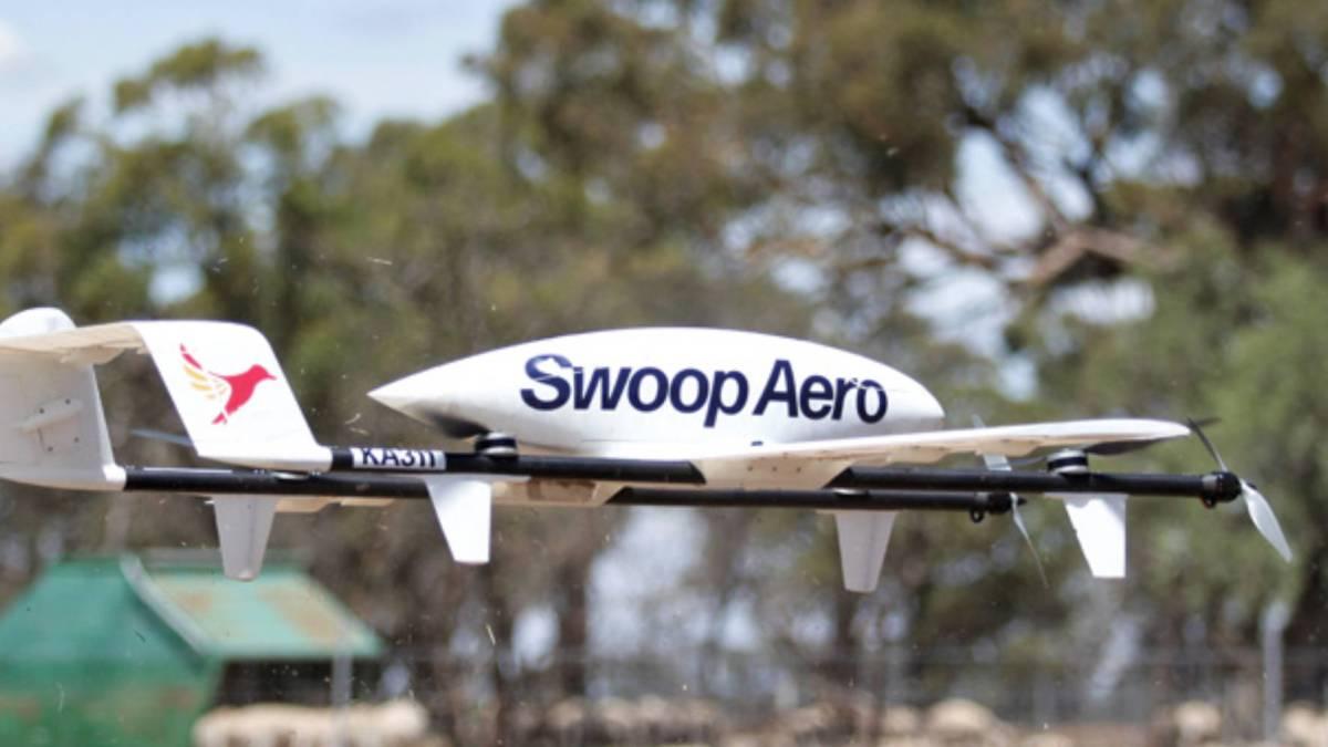 Swoop Aero drone Malawi COVID-19