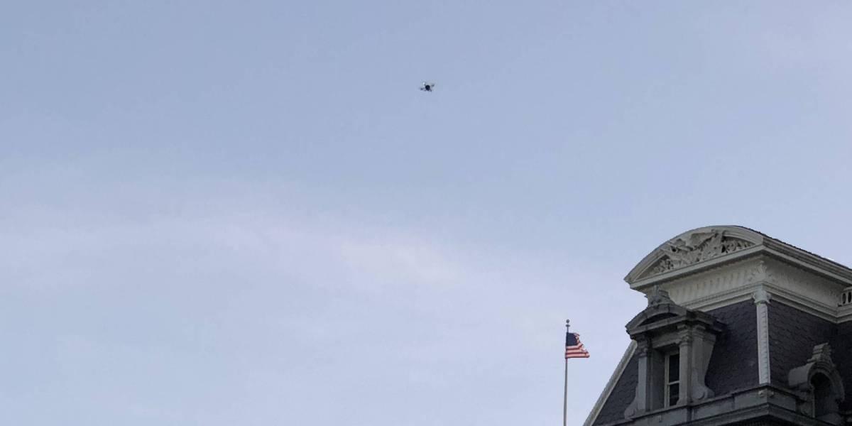 drone spotted EEOB Washington