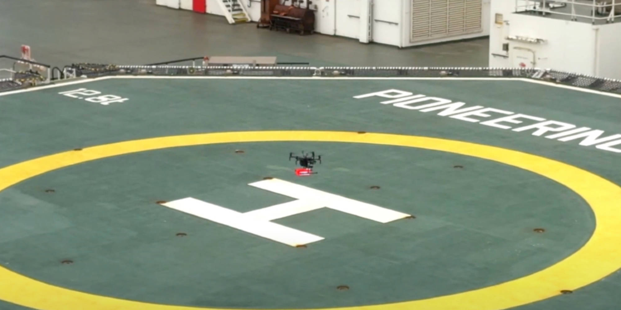 Drone completes first delivery to a vessel at the Port of Rotterdam - DroneDJ