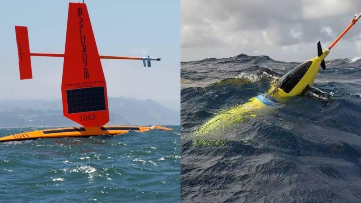 drones fish weather