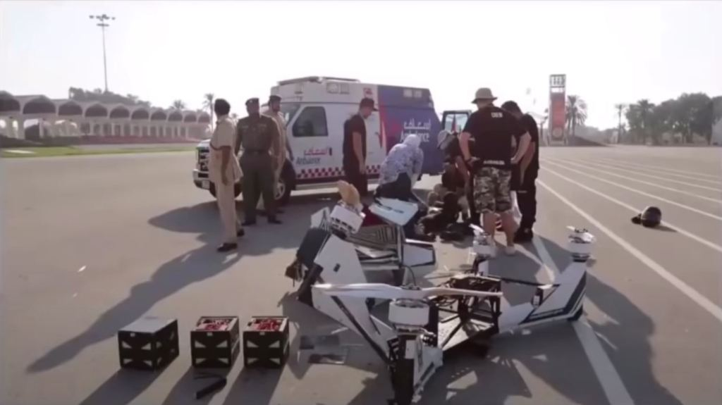 dubai hover crash