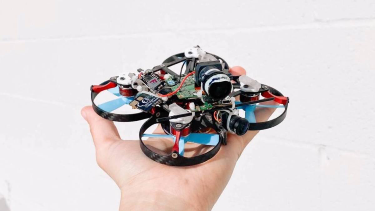 epic video FPV drone