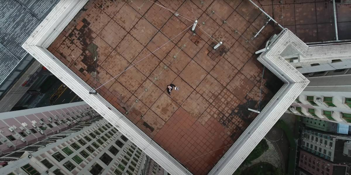 fly drone mainland China