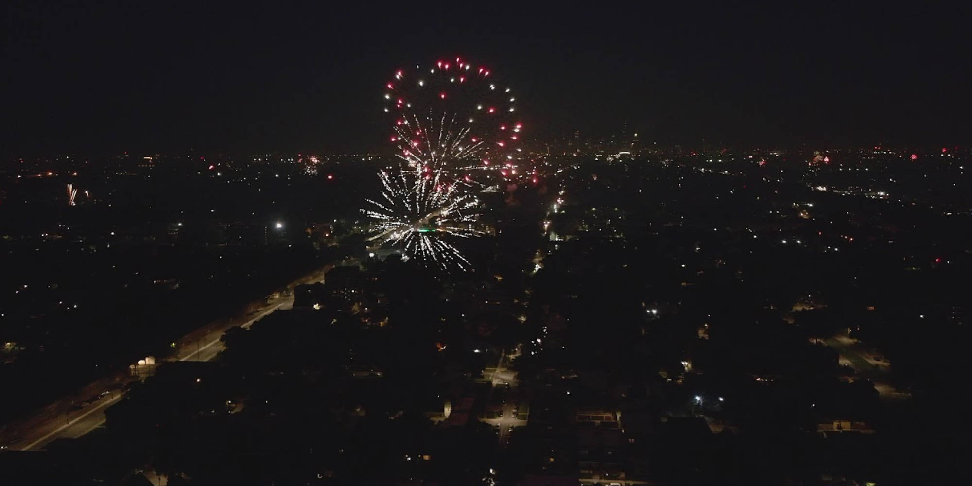 4th of July fireworks captured by drones around the US - DroneDJ