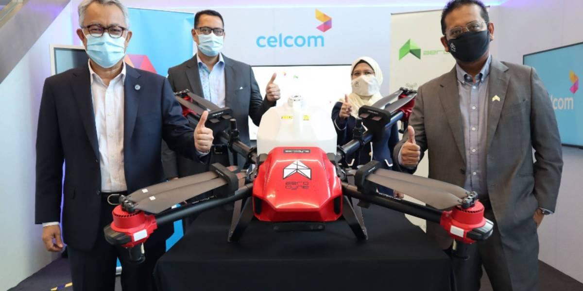 Aerodyne Celcom drone tech