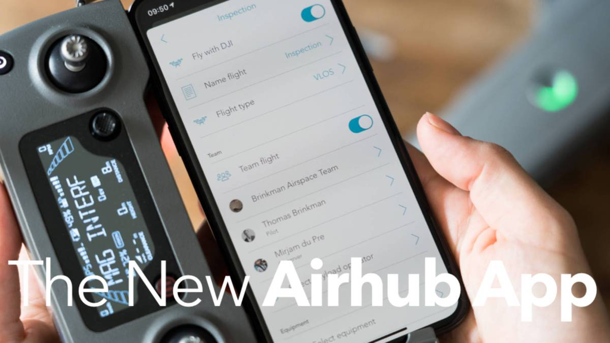 AirHub managing drone fleets