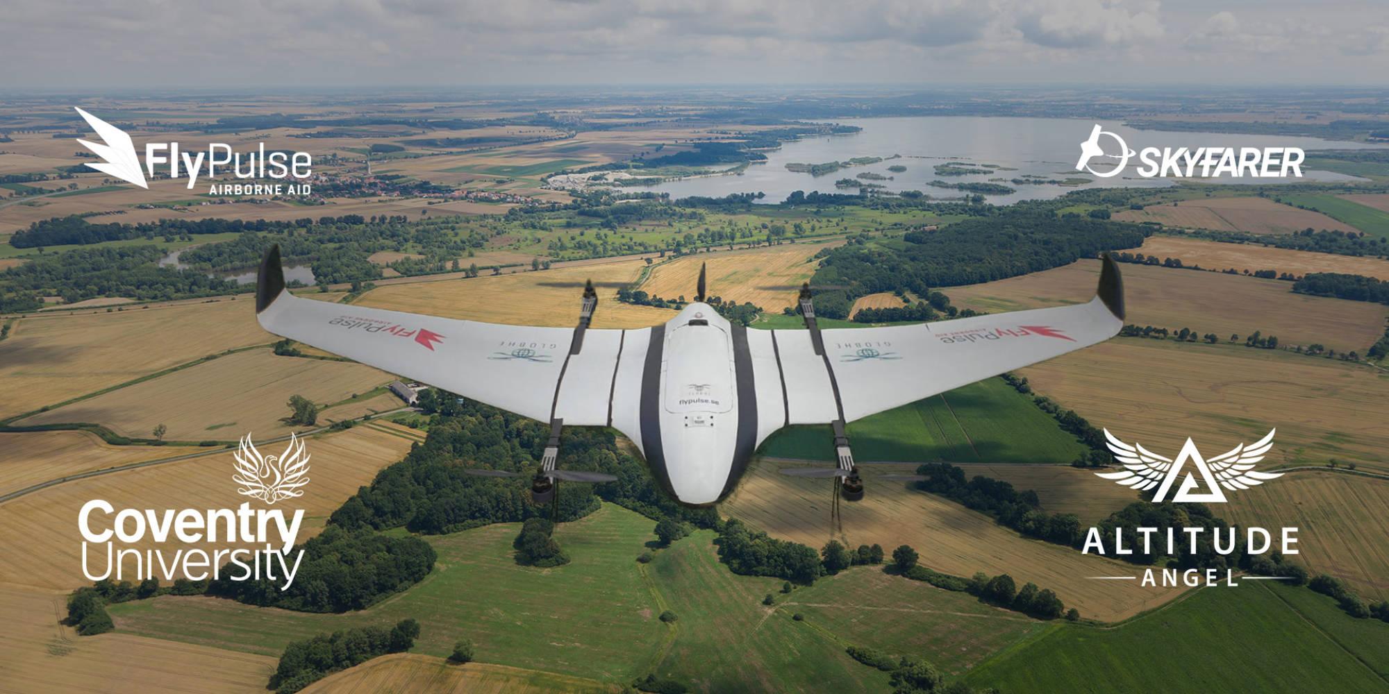 Altitude Angel partners to create drone delivery corridor - DroneDJ
