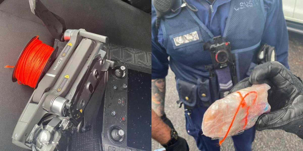 COVID-19 drones drugs prisons