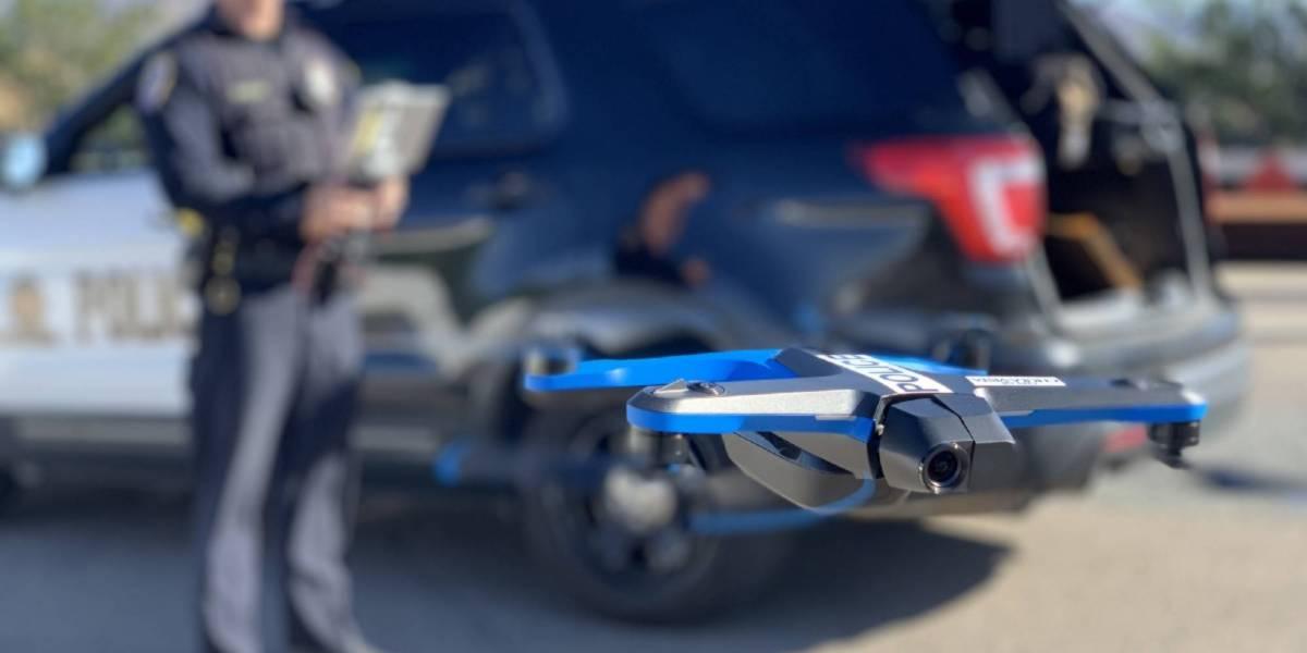 Chula Vista Police FAA Skydio