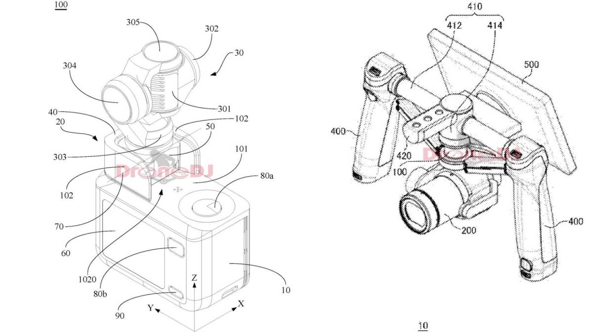 DJI gimbals two-handed integrated1