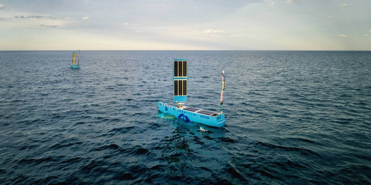 Drones patrol Australian waters