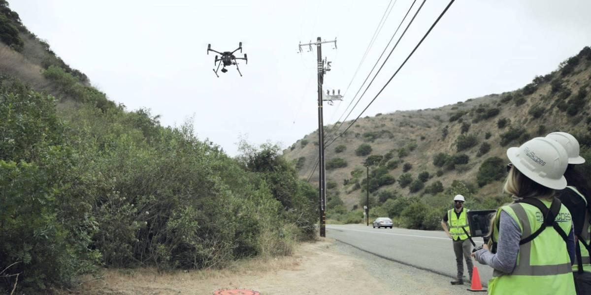 Edison drones to inspect equipment