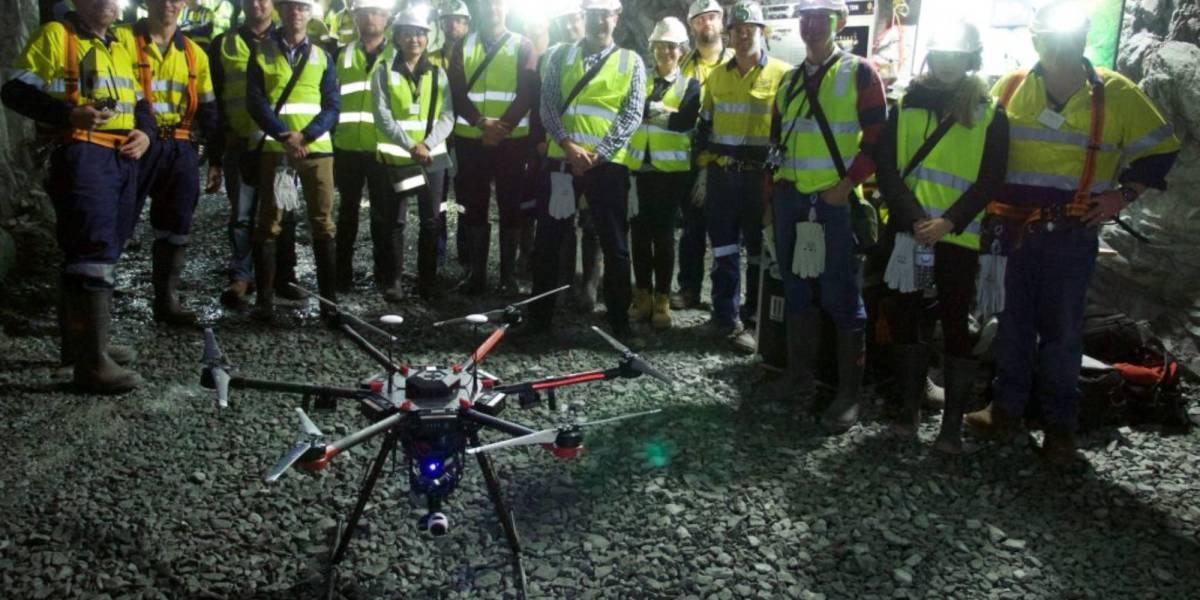 Emesent autonomy underground drones