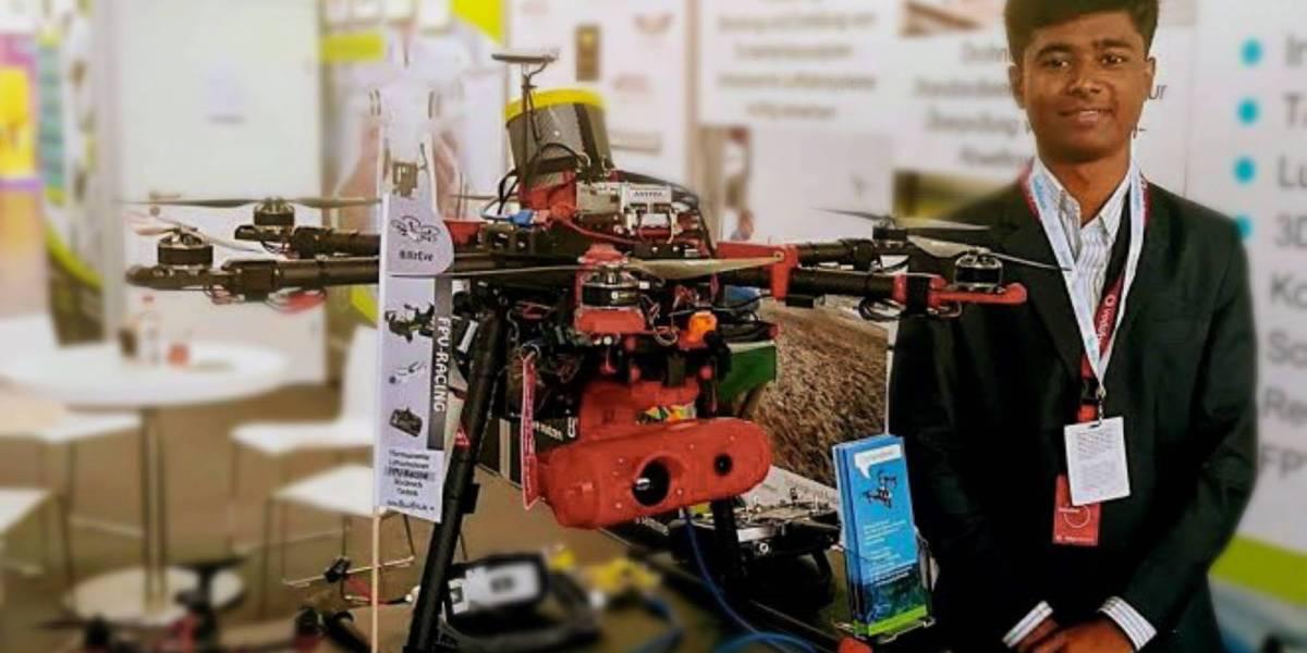 India drone genius companies