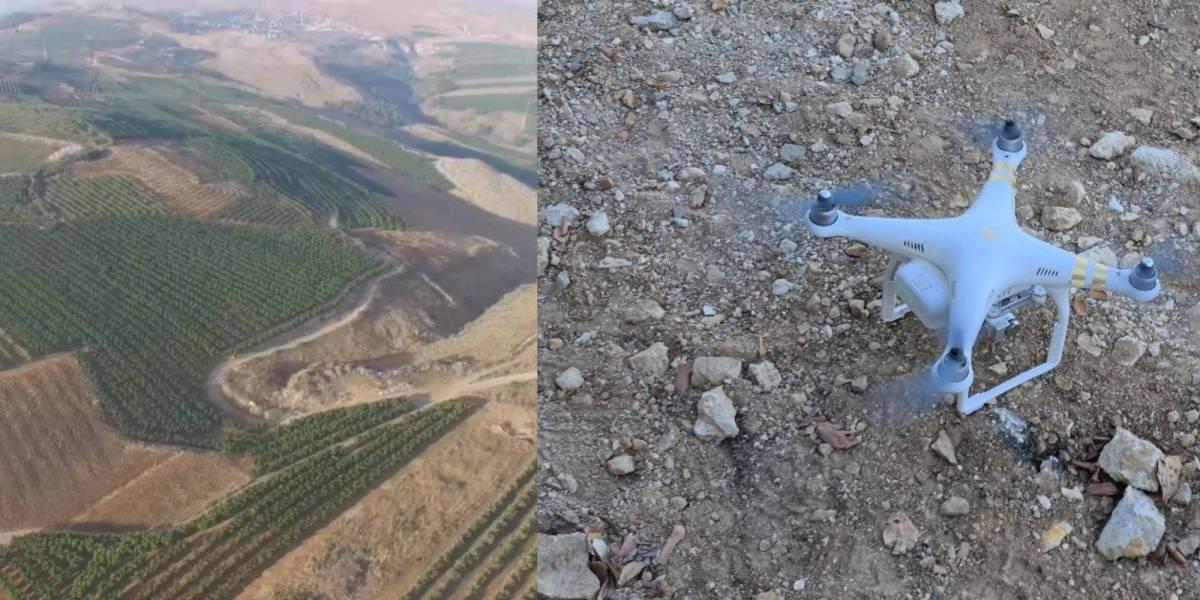 Israeli military drone border