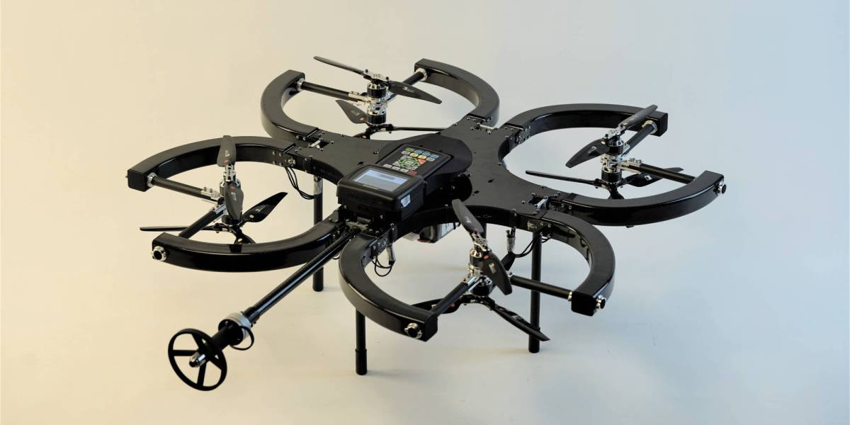 Skygauge inspection drone