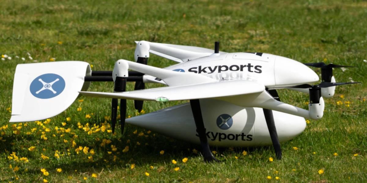 Skyports drones deliver medical