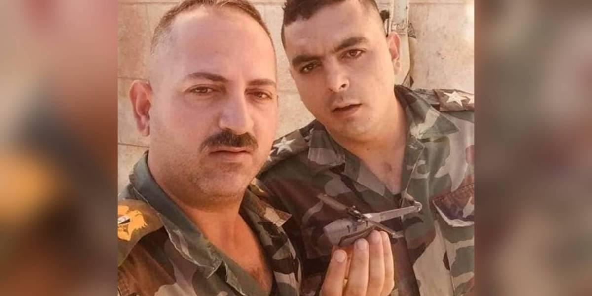 Syrian American drone