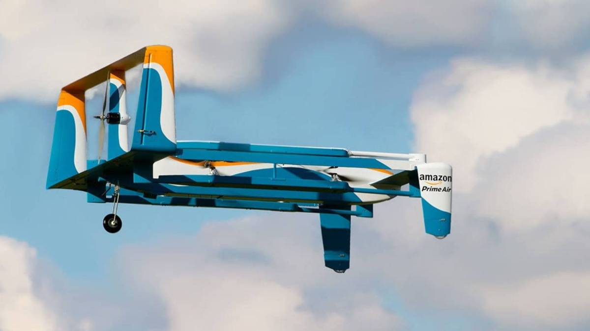 Amazon drone ski lifts