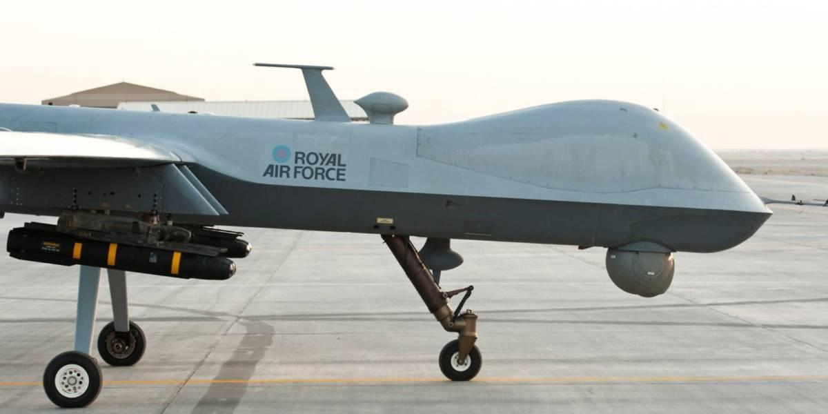 Australian UK drones Syria