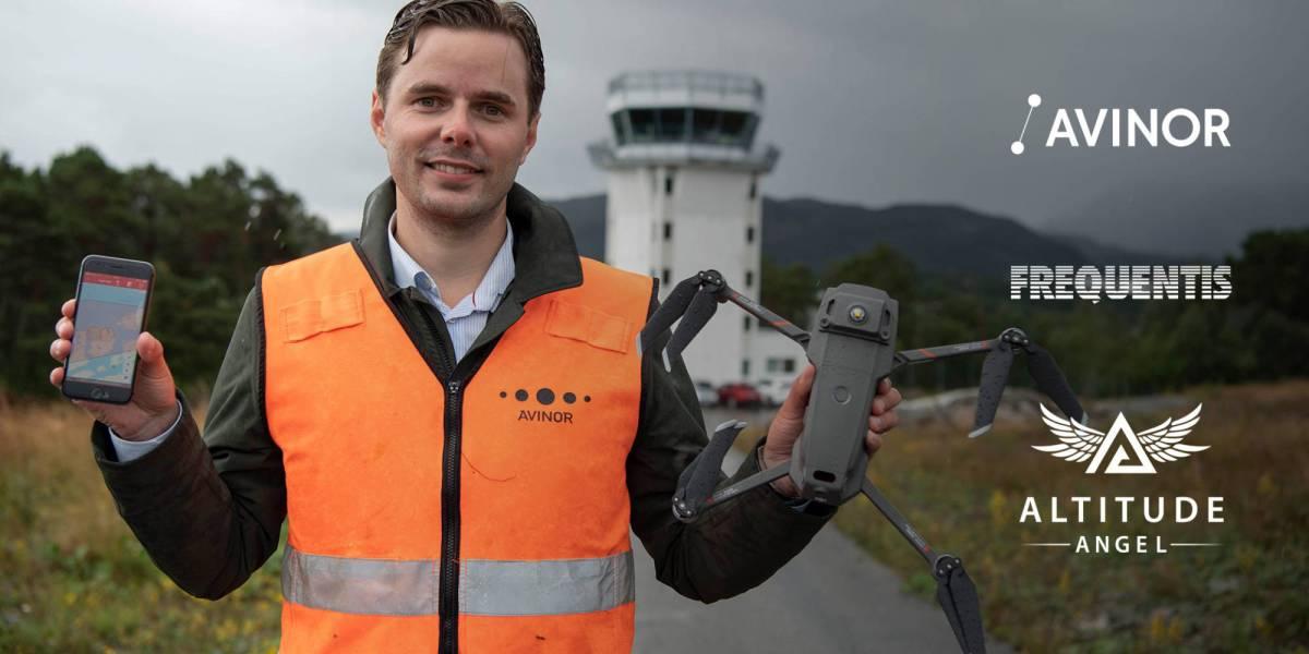 Avinor UTM drone Norway