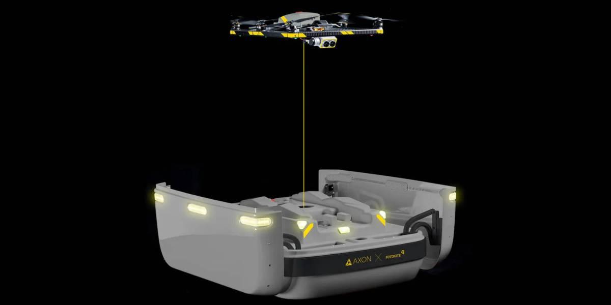 Axon Fotokite autonomous drone