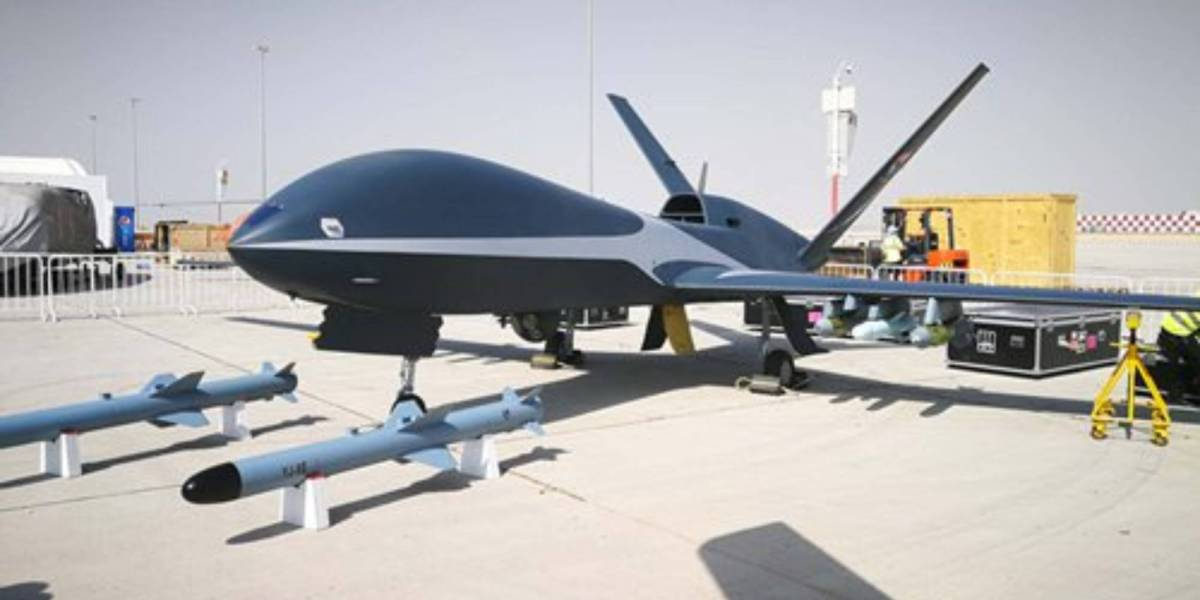 Chinese drones detect typhoons