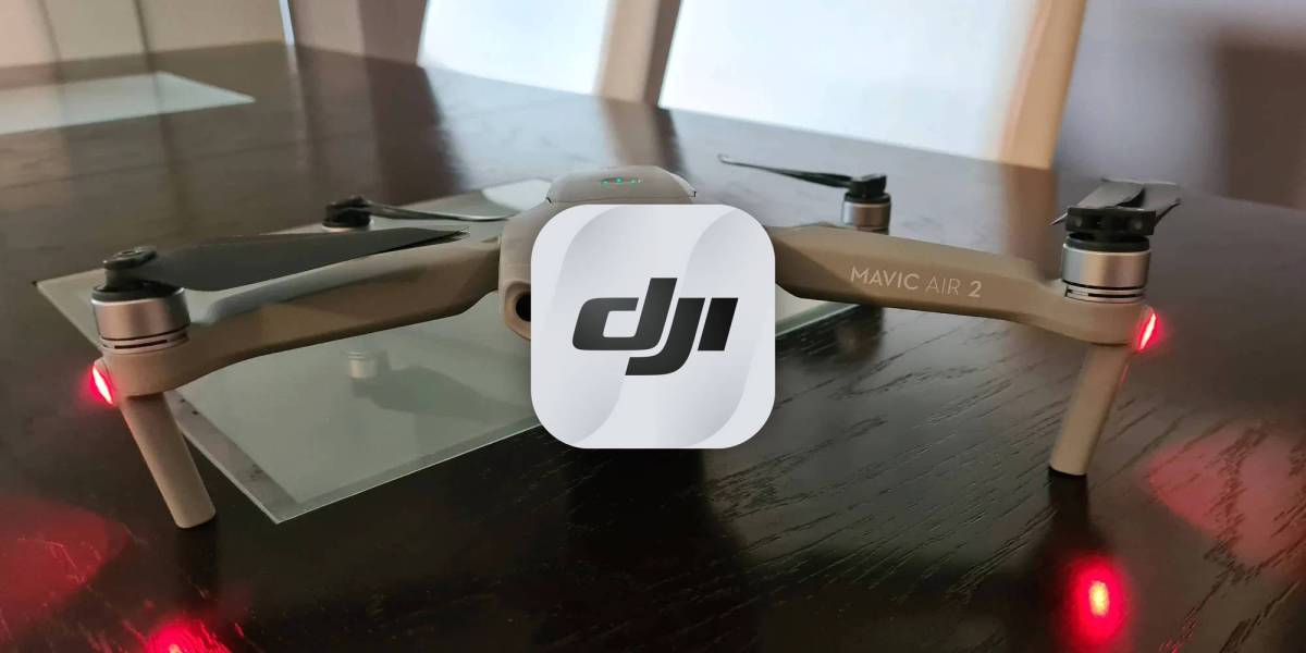 DJI Fly Mavic Air Fly's compass-style indicator update
