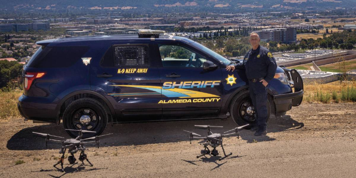 Drone police standoff gunman