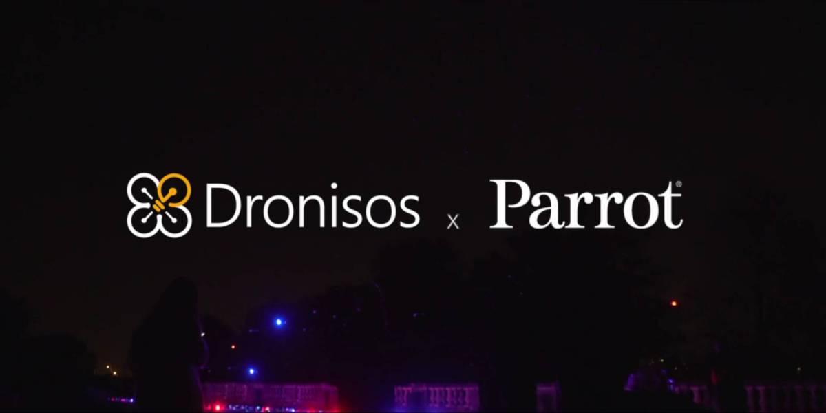 Parrot Dronisos drone automation