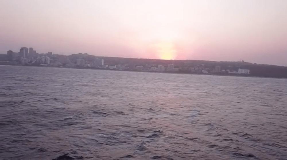 Reddit drone sinks ocean sea