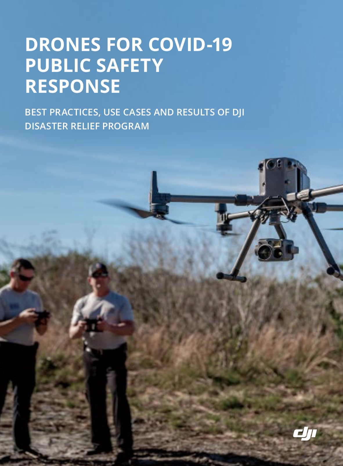 DJI public safety COVID-19 guide