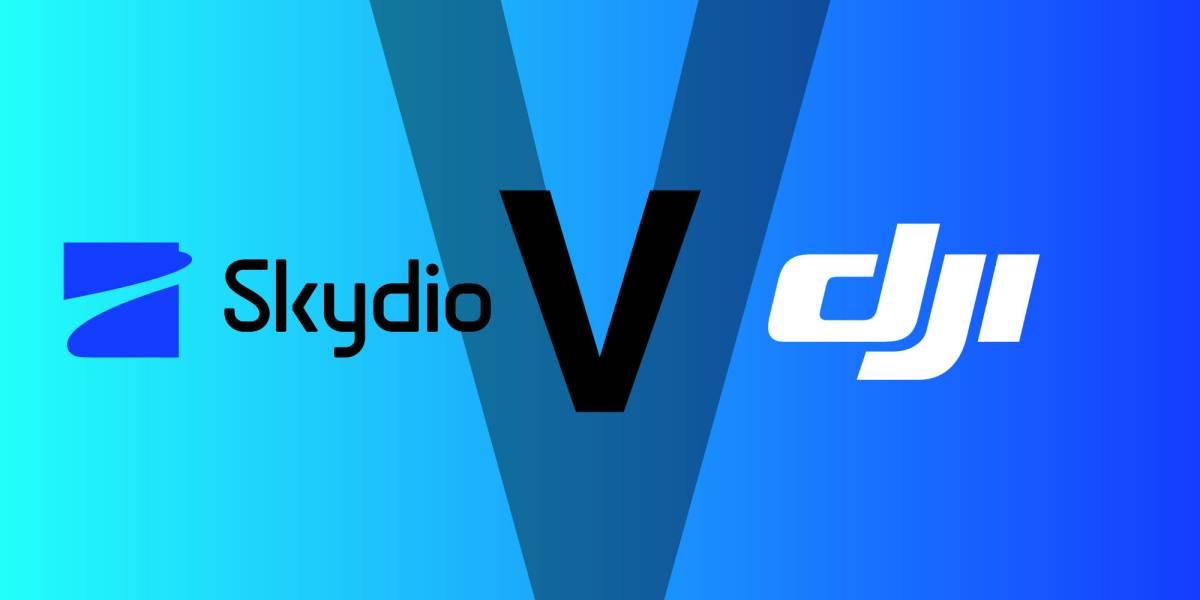 Skydio DJI marketing gimmick